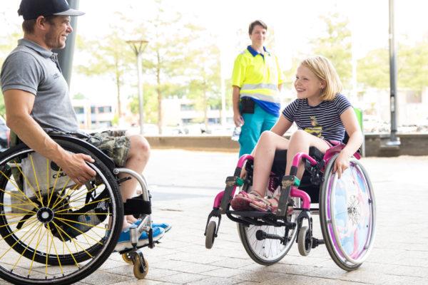 04-08-2018: Rolstoel basketbal: Dutch Battle: Nieuwegein  Side Event - Rolstoelbehendigheid Wheelchair Skills  Rolstoel basketbal Dutch Battle Nieuwegein 2018  - Turkije v Spanje